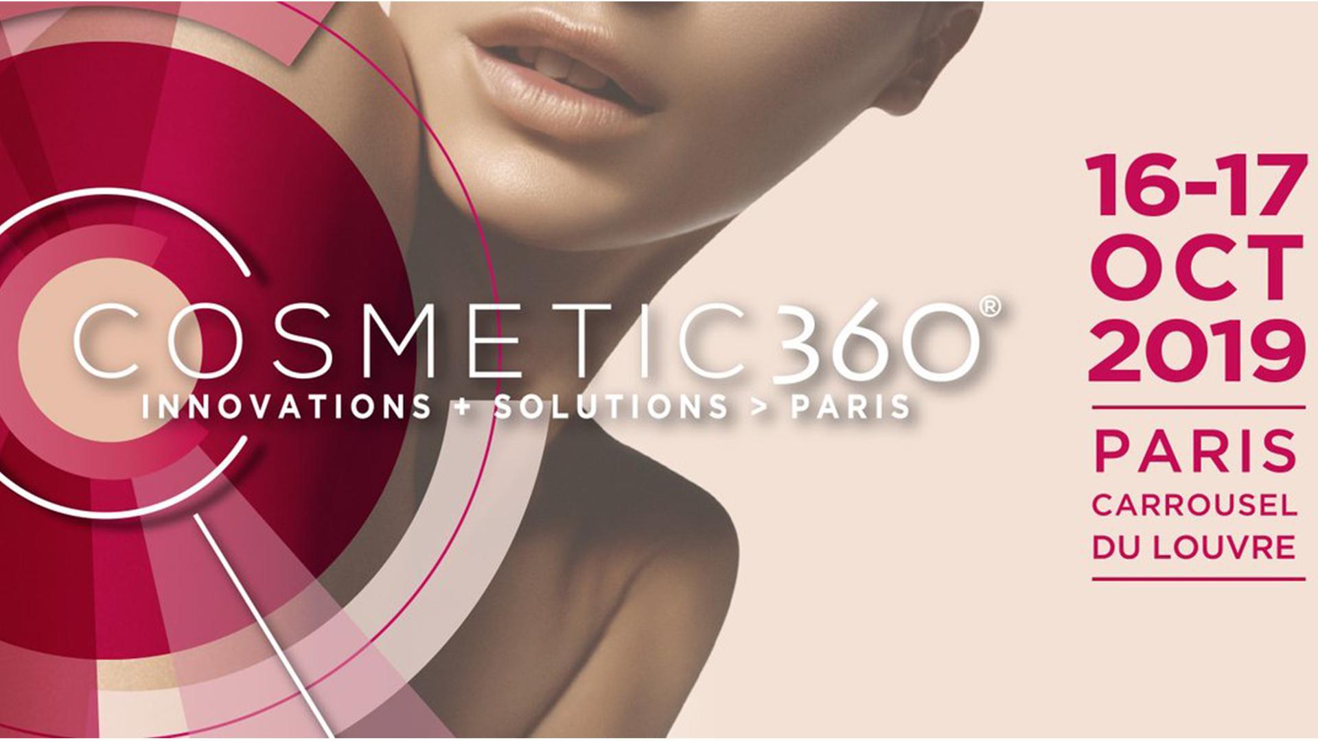 COSMETIC 360, Le salon international de l'innovation pour la filière parfumerie-cosmétique