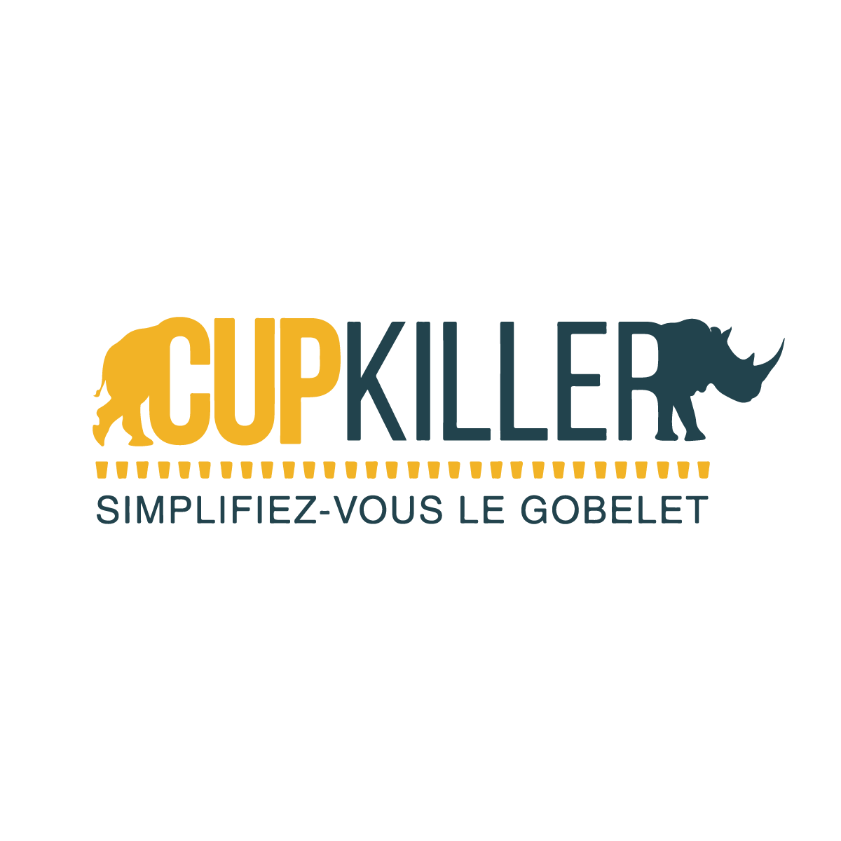 Logo Cupkiller Simplifiez-vous le gobelet