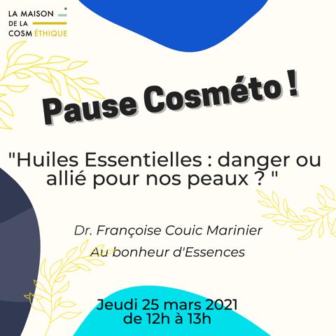 Pause Cosmeto Françoise Couic Marinier